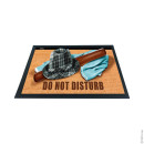 3D DOORMAT Do Not Disturb