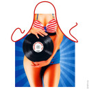 Pin-up apron