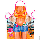 Fitness girl apron