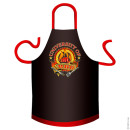 University of BBQ cotton apron