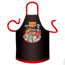 BBQ On The Road cotton apron