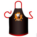 Pirates of BBQ cotton apron