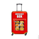 SUITCASE COVER Hamburgers