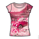 T-SHIRT FASHION DONNA Auto d'epoca