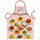 Italian first courses apron