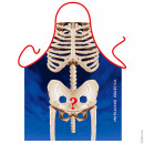 Skeleton apron