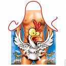 Happy Chicken apron