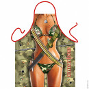 Military Sexy Zone Woman apron