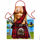 Scottish Man apron