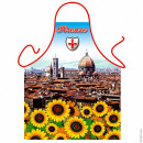 Florence sunflowers apron