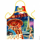 Moulin Rouge Paris apron