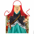 Fimmina d'onore (sicilian woman) apron