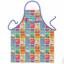 Pop Art Italian apron