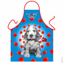 Dog I LOVE YOU apron