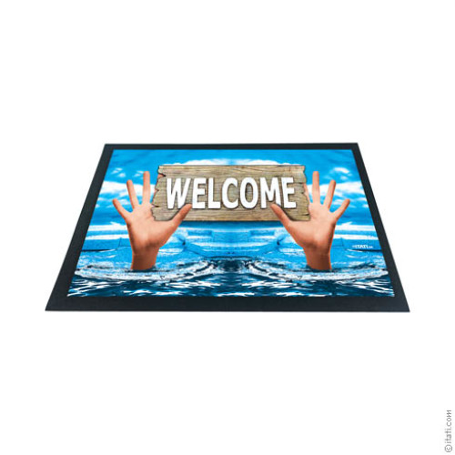 3D DOORMAT Welcome