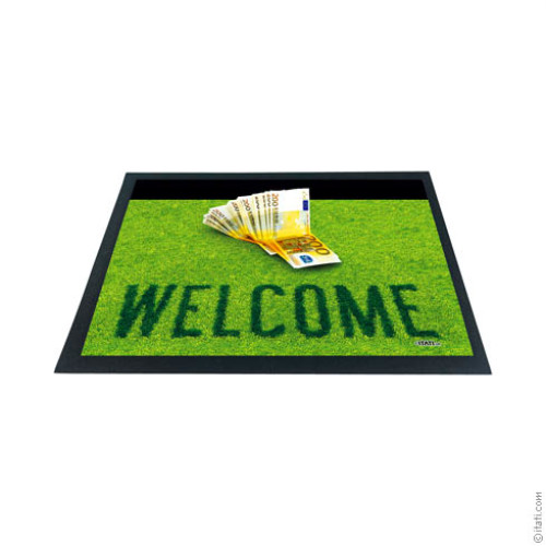 3D DOORMAT Money