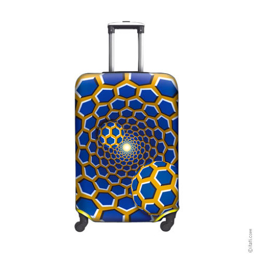 SUITCASE COVER Psychedelic 2