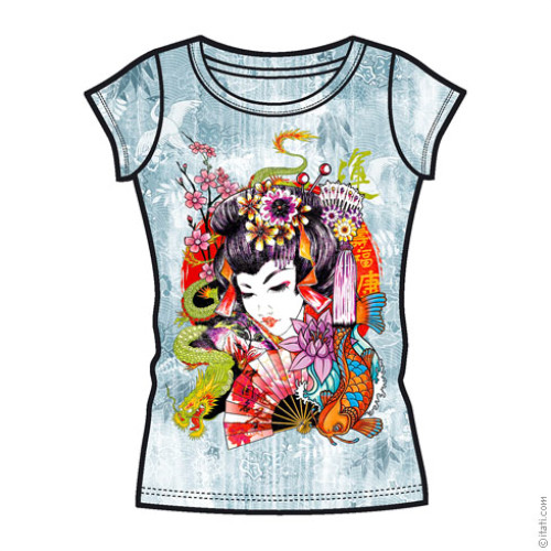 T-SHIRT FASHION DONNA Geisha