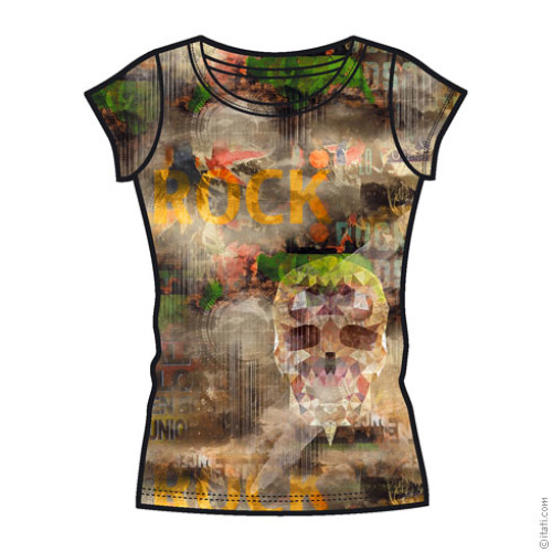 T-SHIRT FASHION DONNA Rock