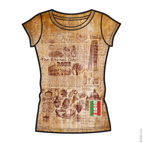 T-SHIRT FASHION DONNA Italia
