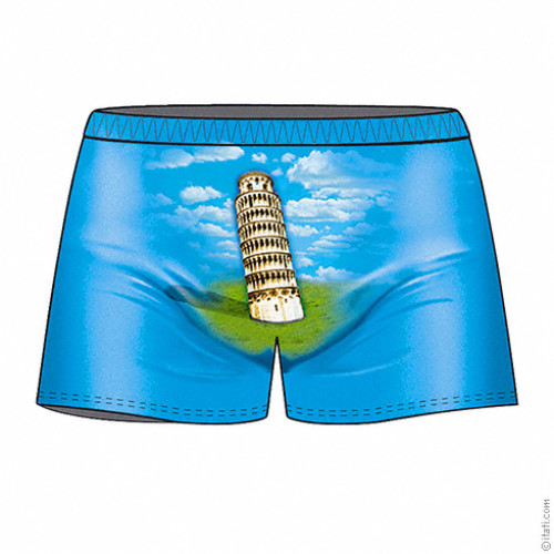 Pisa Tower boxer
