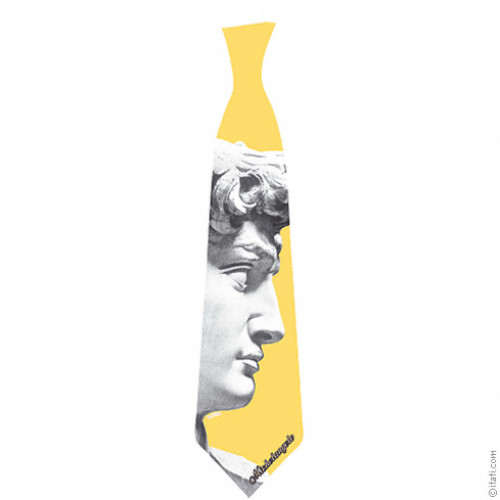 Michelangelo's David tie