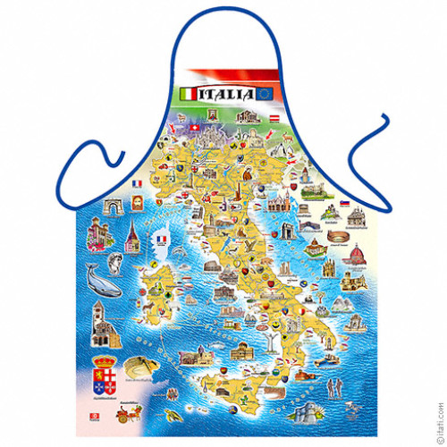 Italy's map apron