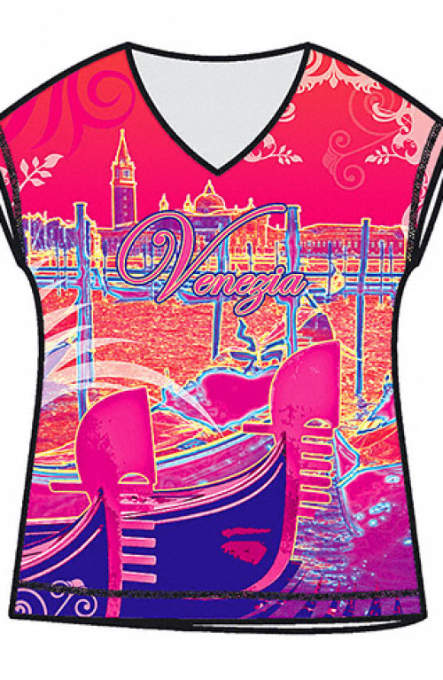 Venice's Gondola fashion T-shirt