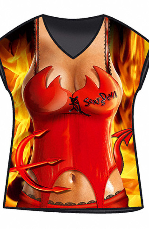 Devil Woman sexy T-shirt