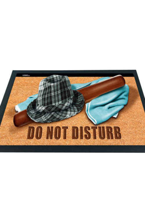 ZERBINO EFFETTO 3D Do Not Disturb