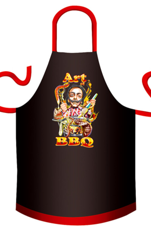 Art of BBQ cotton apron
