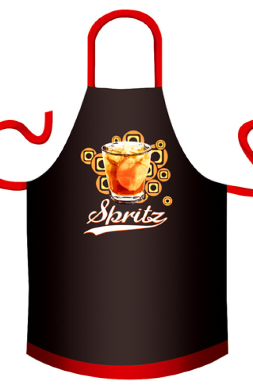 Spritz BBQ cotton apron