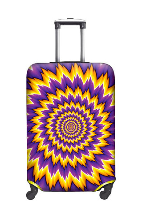 SUITCASE COVER Psychedelic