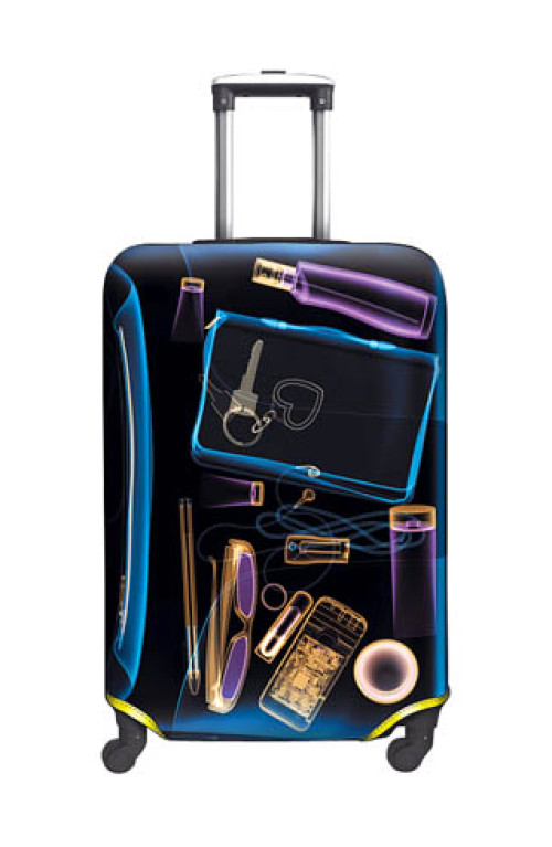 SUITCASE COVER X-Ray