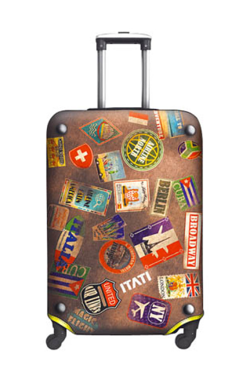 SUITCASE COVER Labels