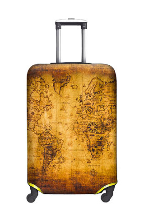SUITCASE COVER Old Map