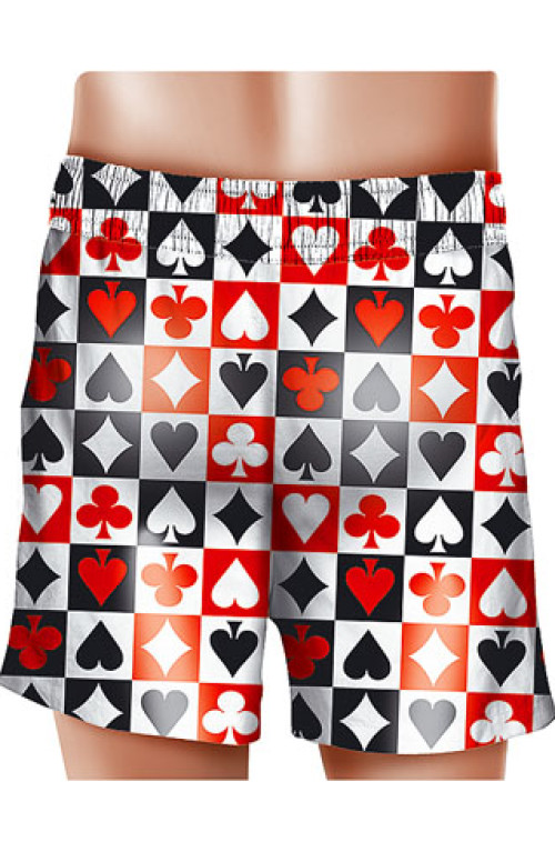 Poker SWIM BOXER