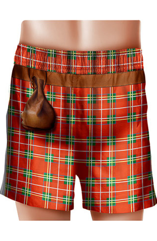 Scottish man SWIM BOXER
