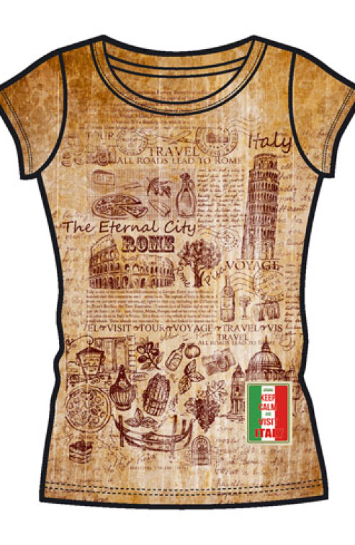 FASHION WOMAN T-SHIRT Italy