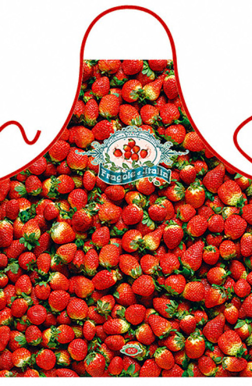 Italian Strawberries apron