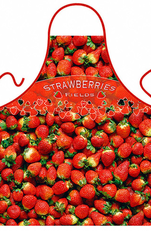 Grembiule Strawberries Field