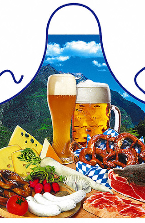 Bavarian food apron